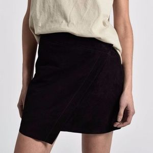 NWT One Teaspoon Suede Wild Thing Skirt